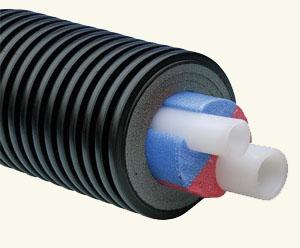 Теплоизоляционные трубы Uponor Ecoflex Supra Aqua Twin