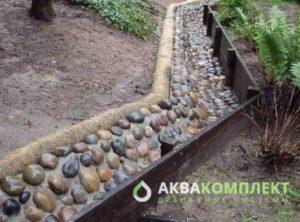 Декорирование ливневой канализации с помощью приемов ландшафтного дизайна