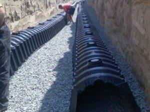 Дренажные тоннели на участке