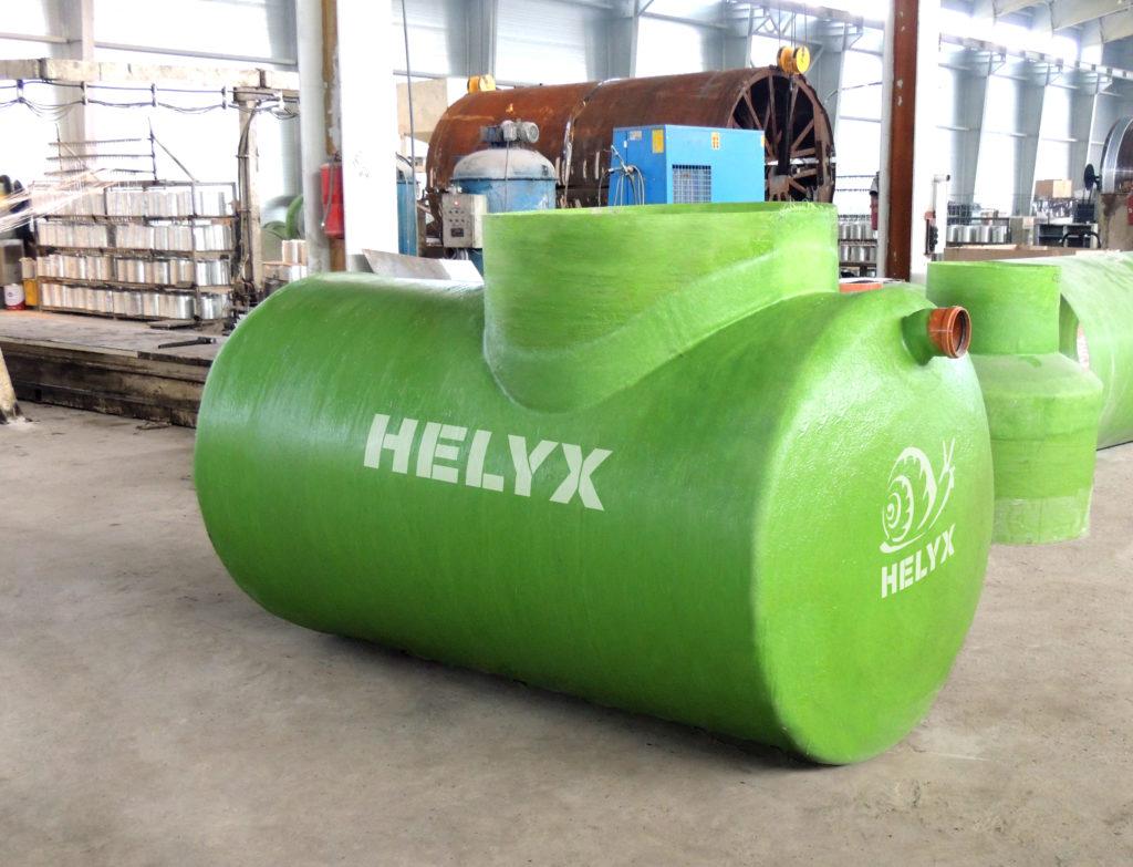 Горизонтальный жироуловитель Helyx