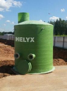 Колодец для очистных сооружений Helyx