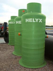 Helyx контрольные колодцы