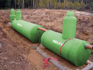 Монтаж ливневых очистных однокорпусных агрегатов Helyx