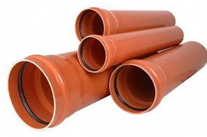 ПВХ канализационные трубы