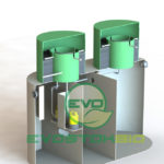 Септик EvoStok Bio двухкамерный