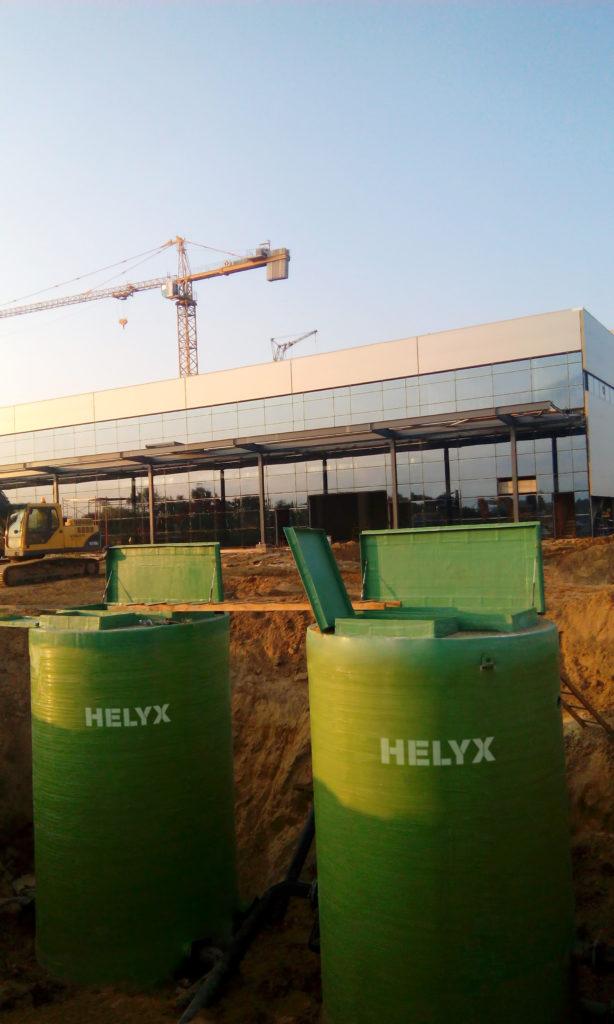Насосная станция пожаротушения Helyx
