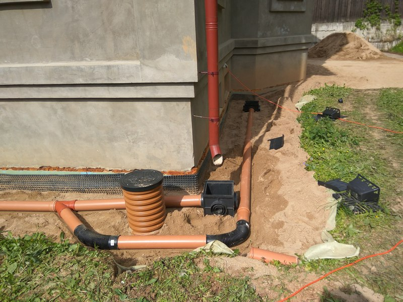 Внутренняя ливневая канализация